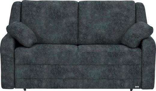 SCHLAFSOFA in Textil Anthrazit - Anthrazit/Schwarz, KONVENTIONELL, Kunststoff/Textil (158/88/91cm) - Sedda