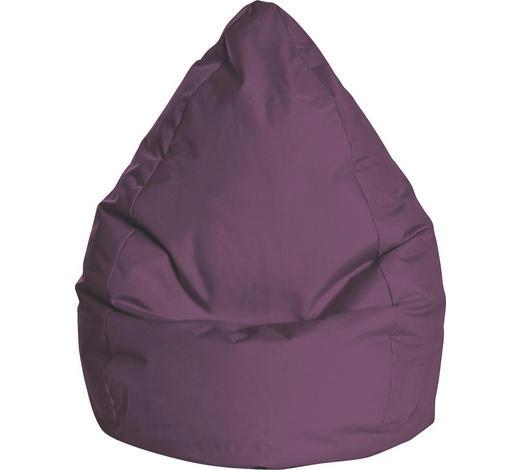 SITZSACK Aubergine  - Aubergine, Design, Textil (80/130/80cm) - Carryhome