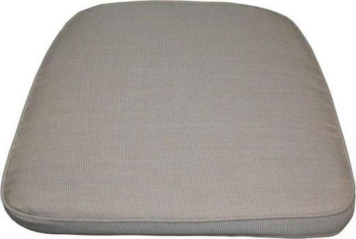 GARTENSITZKISSEN Uni - Beige, Design, Textil (38-47/4/44cm) - Zebra Süd