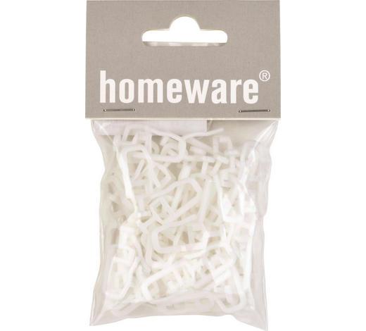 KLUZÁK - bílá, Basics, umělá hmota (1/2.4cm) - Homeware