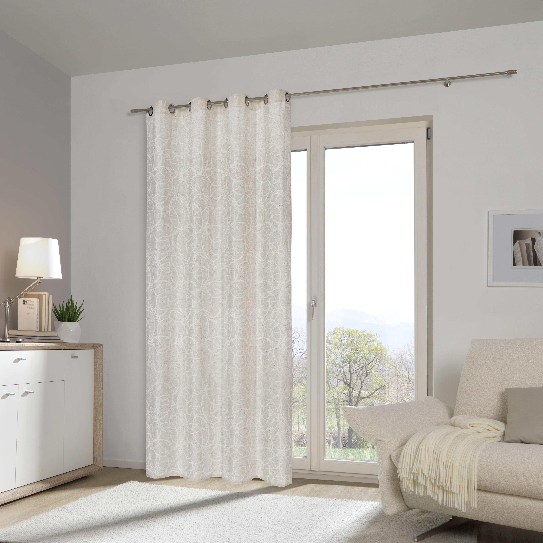 ÖLJETTLÄNGD - naturfärgad, Klassisk, textil (140/245cm) - ESPOSA