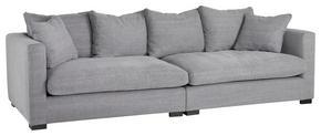 SOFFA - svart/grå, Modern, trä/textil (266/80/113cm)