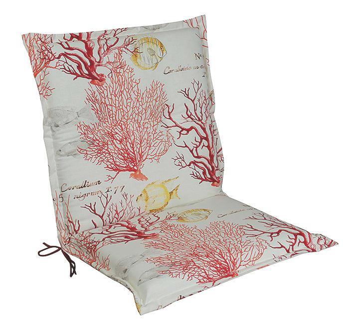 SESSELAUFLAGE - Multicolor, KONVENTIONELL, Textil (50/9/100cm)