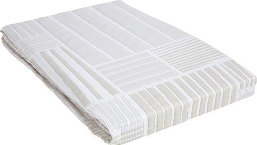 TAGESDECKE 220/240 cm - Beige, Basics, Textil (220/240cm) - Novel