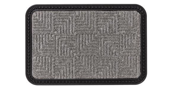 FUßMATTE 50/80 cm  - Grau, KONVENTIONELL, Textil (50/80cm) - Esposa