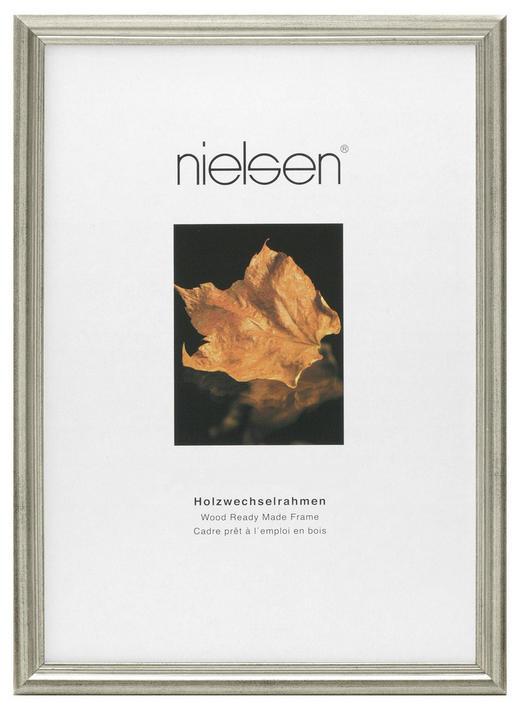 BILDERRAHMEN in Silberfarben - Silberfarben, Basics, Holz (18/24cm) - Nielsen