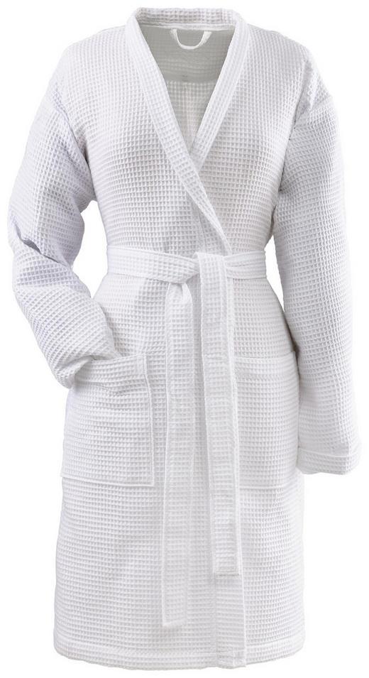 BADEMANTEL S - Weiß, Basics, Textil (Snull) - Vossen