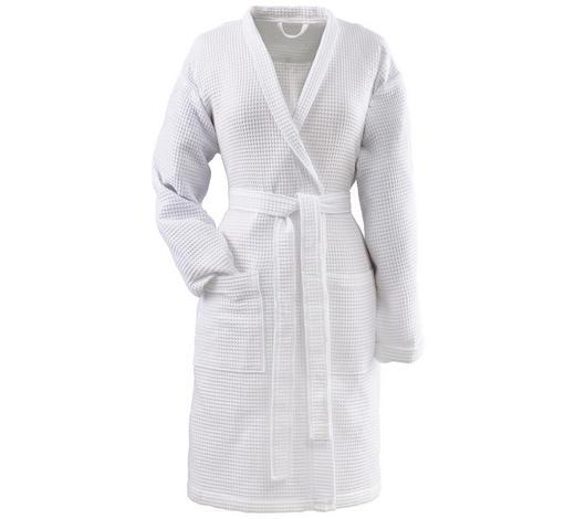 ŽUPAN, S, bílá - bílá, Basics, textil (Snull) - Vossen