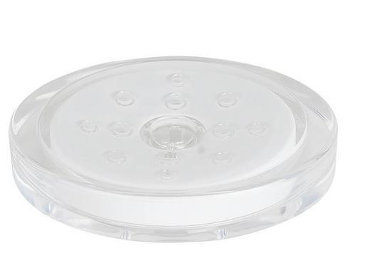 SEIFENSCHALE - Weiß, Basics, Kunststoff (16/10cm) - SPIRELLA