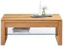 COUCHTISCH in Buchefarben - Buchefarben, Design, Glas/Holz (110/65/45cm) - Cantus