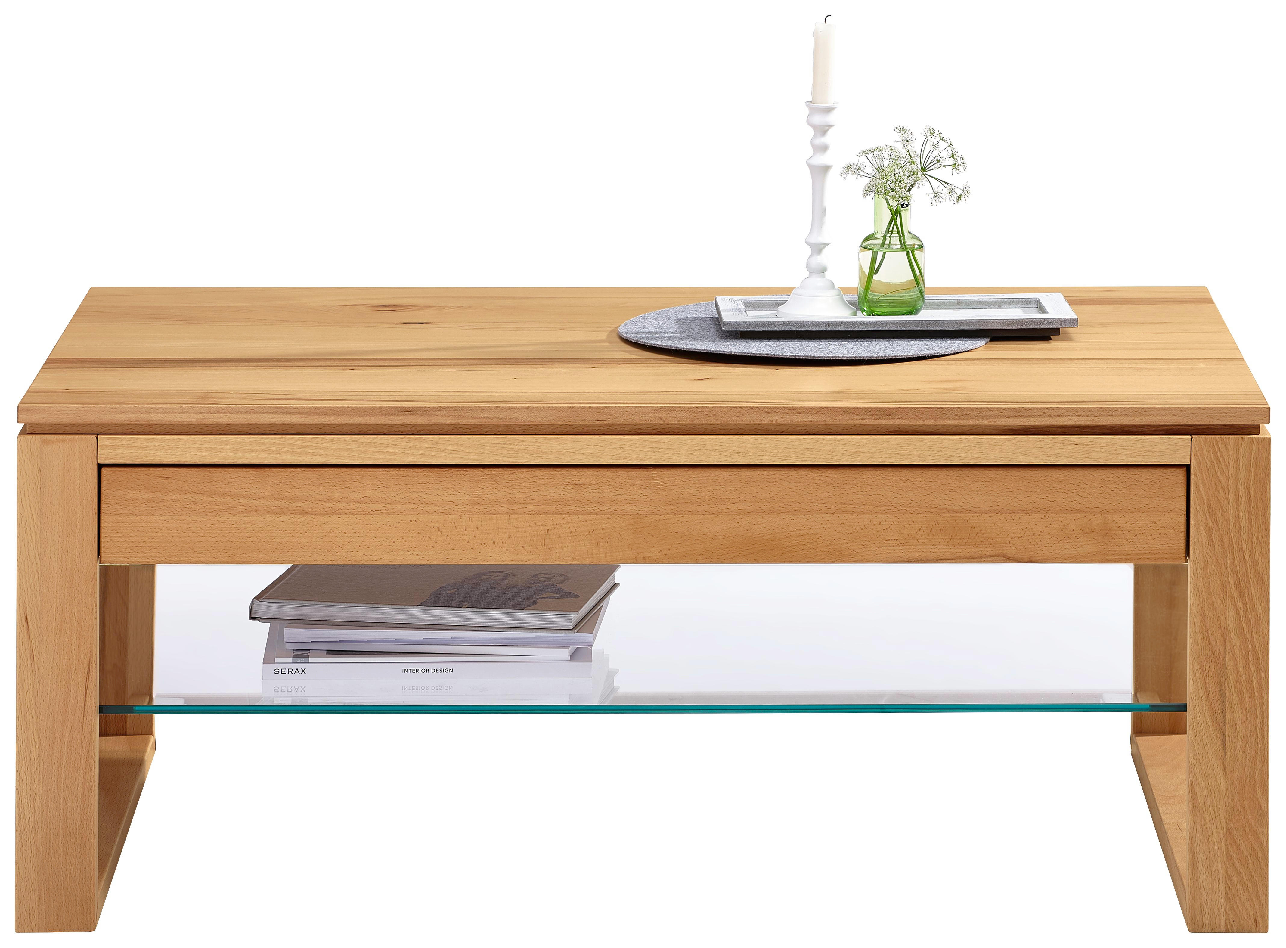 Latest Couchtisch Massiv Rechteckig Buchefarben Buchefarben Design Glasholz  With Couchtisch Abgerundete Ecken