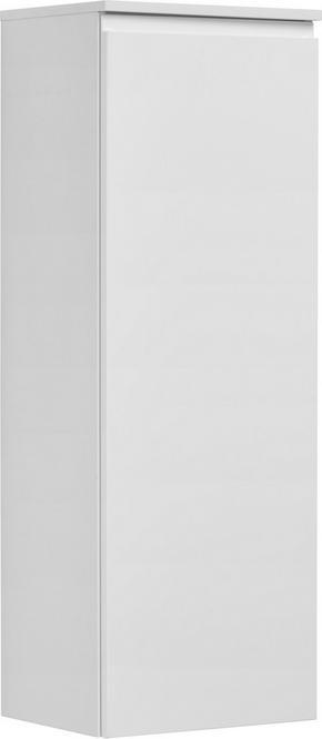 MIDISKÅP - vit, Design, glas/träbaserade material (40/113,6/32,5cm) - Novel