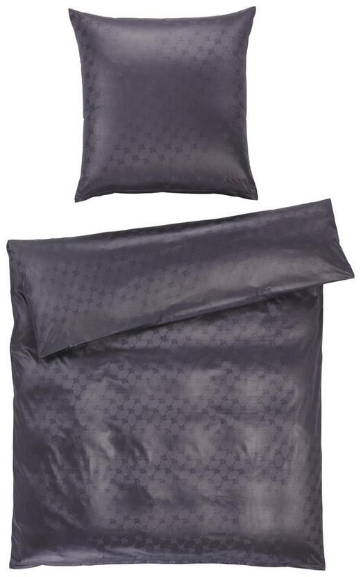 BETTWÄSCHE Jacquard Anthrazit - Anthrazit, Basics, Textil (155/220cm) - Joop!