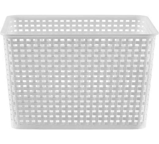 BOX  - Weiß, Basics, Kunststoff (17l) - Plast 1
