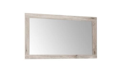 WANDSPIEGEL Eichefarben - Eichefarben, Basics, Glas/Holzwerkstoff (119/70/1,6cm) - CARRYHOME