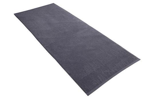 SAUNATUCH 80/200 cm - Dunkelblau, Basics, Textil (80/200cm) - Vossen
