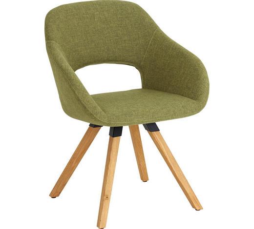 Valnatura Stuhl Eiche Massiv Grün Entdecken