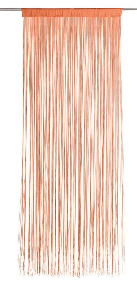 FADENSTORE  transparent  90/245 cm - Orange, Basics, Textil (90/245cm) - BOXXX