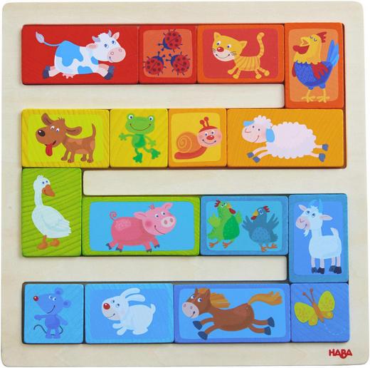 LERNSPIEL - Multicolor, Basics, Holz (22/22cm) - Haba