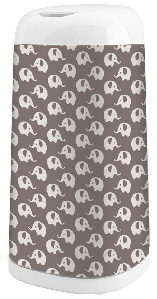 Windeleimerbezug Dress-Up - Anthrazit/Grau, Basics, Textil (27,5/42cm) - Angelcare