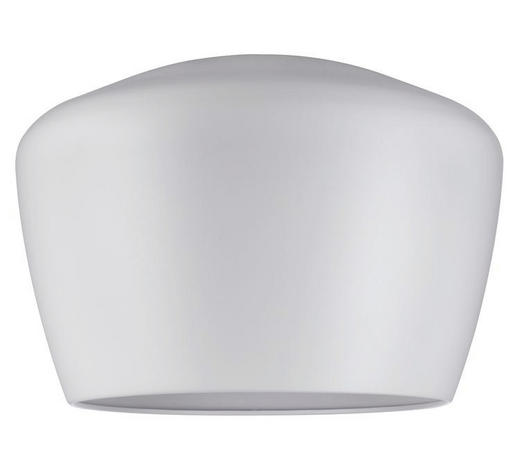 SCHIENENSYSTEM-LEUCHTENSCHIRM   - Weiß, Design, Metall (35/24cm)