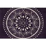 FUßMATTE 50/75 cm Ornament Violett  - Violett, Basics, Kunststoff/Textil (50/75cm) - Esposa