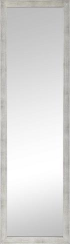 OGLEDALO ZIDNO - boje srebra, Design, staklo/drvni materijal (36/126cm)