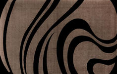 FUßMATTE 110/175 cm Graphik Braun - Braun, Basics, Kunststoff/Textil (110/175cm) - Esposa
