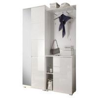 PREDSOBA bela - bela, Basics, leseni material (120/198/40cm) - Xora