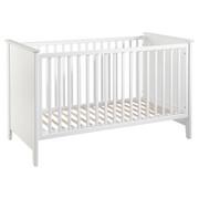 GITTERBETT ISOLDE  - Weiß, Trend, Holz/Holzwerkstoff (144,5/76,5/88,5cm) - My Baby Lou