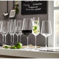 GLÄSERSET 18-teilig - Transparent, Basics, Glas (50,00/26,00/28,00cm) - Leonardo