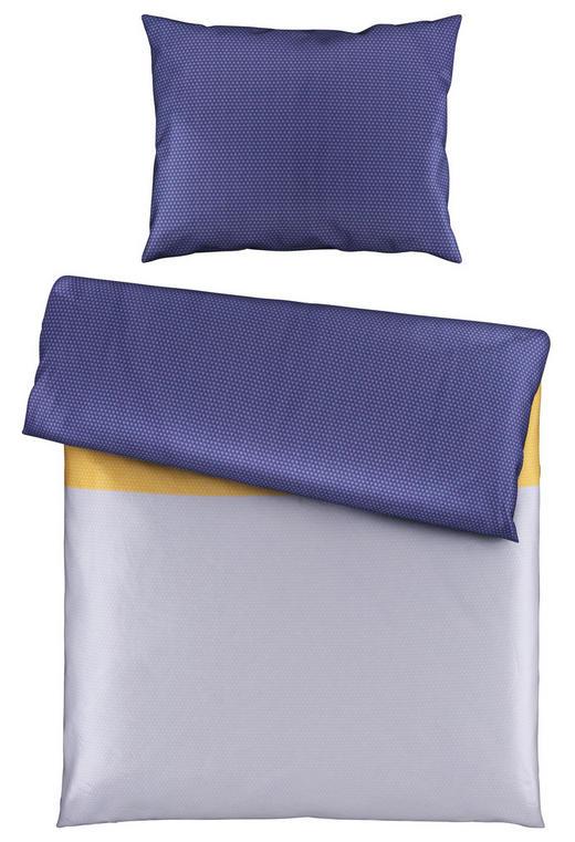 BETTWÄSCHE 140/200/ cm - Blau/Gelb, Design, Textil (140/200/cm) - Novel