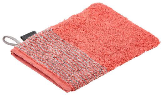 WASCHHANDSCHUH  Rot - Rot, Design, Textil (16/22cm) - Cawoe