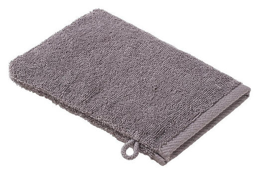 WASCHHANDSCHUH  Anthrazit - Anthrazit, Basics, Textil (16/22cm) - ESPOSA
