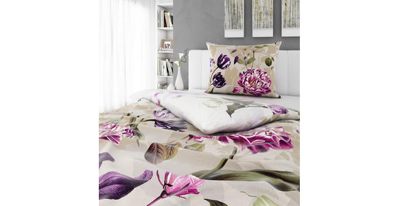 BETTWÄSCHE 140/200 cm  - Rosa, KONVENTIONELL, Textil (140/200cm) - Esposa