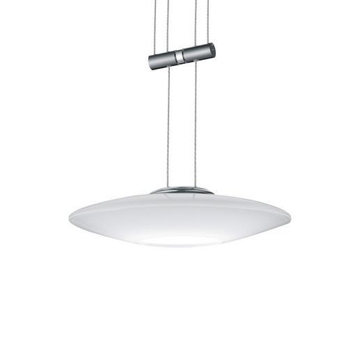 SCHIENENSYSTEM-HÄNGELEUCHTE - Design, Glas/Metall (22/150cm) - Bankamp
