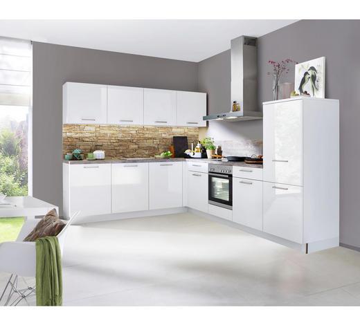 EINBAUKÜCHE  - Weiß/Grau, Design - Nolte Küchen