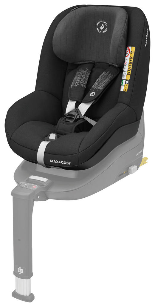 Kinderautositz Pearl Smart i - Schwarz, Basics, Kunststoff/Textil (47,5/59,5/61cm) - Maxi-Cosi