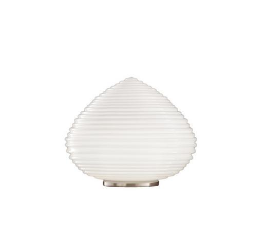 TISCHLEUCHTE - Klar, Design, Glas (37/37/27cm)