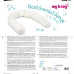 NESTCHEN   - Taupe/Weiß, KONVENTIONELL, Textil (180cm) - My Baby Lou