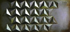 METALLTAVLA - mässingfärg/svart, Design, metall (55/120cm) - Monee