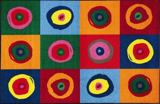 FUßMATTE 115/175 cm Graphik - Basics, Kunststoff/Textil (115/175cm) - Esposa
