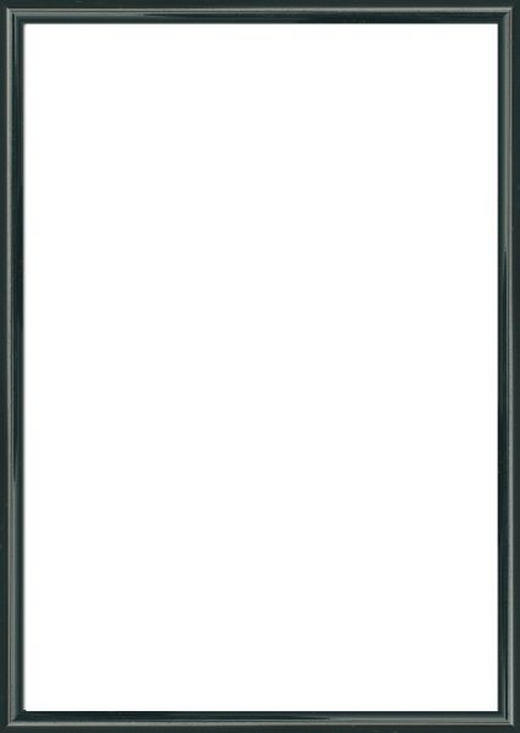 BILDERRAHMEN  Schwarz - Schwarz, Basics, Glas/Kunststoff (51/71cm)