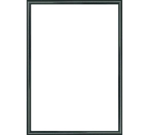 BILDERRAHMEN in Schwarz  - Schwarz, Basics, Glas/Kunststoff (51/71cm)