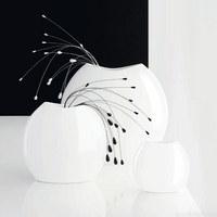 VASE - Weiß, Basics, Keramik (23cm) - ASA