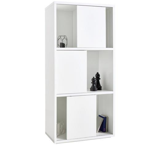 REGAL in 90,3/187,6/40 cm Weiß  - Weiß, Basics, Holzwerkstoff (90,3/187,6/40cm) - Xora