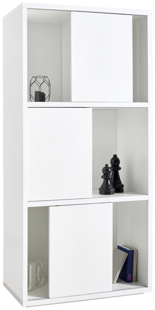 REGAL Weiß - Weiß, Basics (90,3/187,6/40cm) - Xora