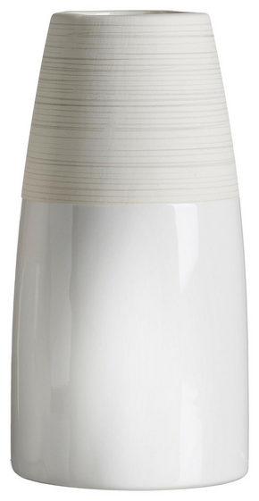 VAS - vit/beige, Design, keramik (9/9/18cm) - Ritzenhoff Breker