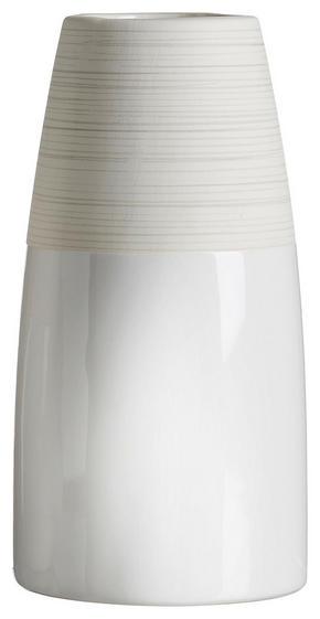 VAS - beige/vit, Design, keramik (9/9/18cm) - Ritzenhoff Breker