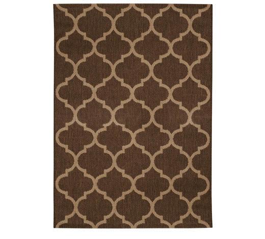 TKANA PREPROGA NATURE BROWN - bež/rjava, Konvencionalno, tekstil/naravni materiali (200/290cm) - Boxxx